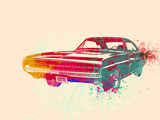 1967 Dodge Charger 1 Plastic Sign by  NaxArt