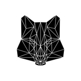 Black Fox Premium Giclee Print by Lisa Kroll