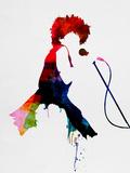 Tina Watercolor Plastikschild von Lora Feldman