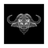 Black Buffalo Mesh Posters by Lisa Kroll