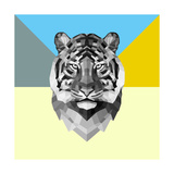 Party Tiger Poster by Lisa Kroll