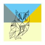 Party Owl Kunst van Lisa Kroll