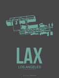 Lax Los Angeles Poster 2 Plastic Sign by  NaxArt