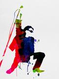 Bono Watercolor Plastic Sign by Lora Feldman