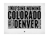 Denver Word Cloud 2 Prints by  NaxArt