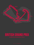 British Grand Prix 2 Plastic Sign by  NaxArt