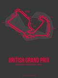 British Grand Prix 2 Plastic Sign by  NaxArt