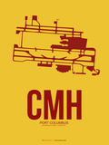 CMH Port Columbus Poster 3 Plastic Sign by  NaxArt