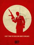 James Poster Red 1 Plastikskilt af Anna Malkin