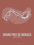 Monaco Grand Prix 1 Plastic Sign by  NaxArt