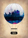 Tokyo Air Balloon Plastic Sign by  NaxArt