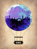 Venice Air Balloon Plastic Sign by  NaxArt