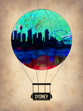 Sydney Air Balloon Plastic Sign by  NaxArt