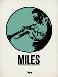 Miles 1 Plastskilt av Aron Stein