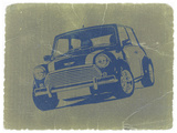 Mini Cooper Plastic Sign by  NaxArt