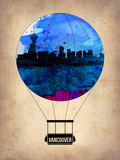 Vancouver Air Balloon Plastic Sign by  NaxArt