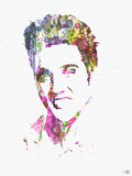 Elvis Presley Plastic Sign by  NaxArt