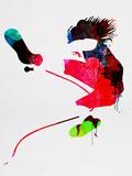 Eddie Watercolor Signes en plastique rigide par Lora Feldman
