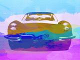 Jaguar E Type Front Plastic Sign by  NaxArt