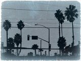 Los Angeles Plastic Sign by  NaxArt