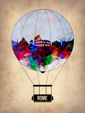 Rome Air Balloon Plastic Sign by  NaxArt
