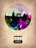 Kyoto Air Balloon Plastic Sign by  NaxArt