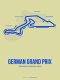 German Grand Prix 2 Plastic Sign by  NaxArt