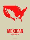 Mexican America Poster 1 Plastic Sign by  NaxArt