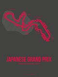 Japanese Grand Prix 3 Plastic Sign by  NaxArt