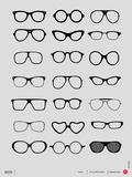 Glasses Poster I Znaki plastikowe autor NaxArt