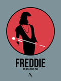 Freddie Plastic Sign by David Brodsky