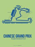 Chinese Grand Prix 1 Plastic Sign by  NaxArt