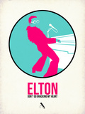 Elton Plastic Sign by David Brodsky