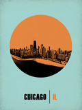 Chicago Circle Poster 1 Plastic Sign by  NaxArt