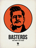 Basterds 1 Plastic Sign by Aron Stein