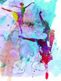 Two Ballerinas Watercolor 4 Kunststof borden van Irina March