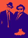 Brothers Poster Plastikskilte af Anna Malkin