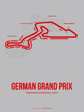 German Grand Prix 1 Plastic Sign by  NaxArt