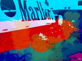 Marlboro  Racing Plastic Sign by  NaxArt