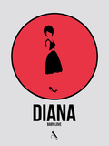 Diana Plastic Sign by David Brodsky