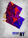 Chelsea New York Plastic Sign by  NaxArt