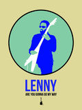 Lenny 2 Plastic Sign by David Brodsky