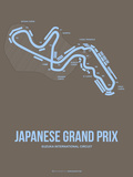 Japanese Grand Prix 1 Plastic Sign by  NaxArt
