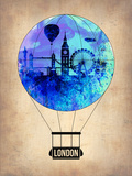 London Air Balloon Plastic Sign by  NaxArt