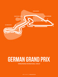 German Grand Prix 3 Plastic Sign by  NaxArt
