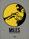 Miles 2 Plastic Sign by Aron Stein