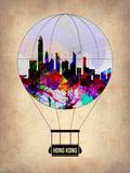 Hong Kong Air Balloon Plastic Sign by  NaxArt