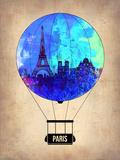Paris Air Balloon Plastic Sign by  NaxArt