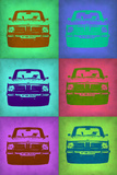 BMW 2002 Pop Art 2 Plastic Sign by  NaxArt