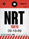 NRT Tokyo Luggage Tag 1 Plastic Sign by  NaxArt
